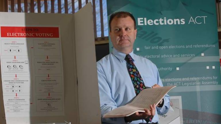 Electoral Commissioner Phillip Green.