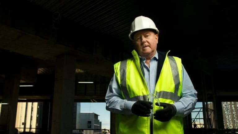 The CFMEU is one of Hadgkiss's main targets in his quest to crack down on unlawful industrial action.
