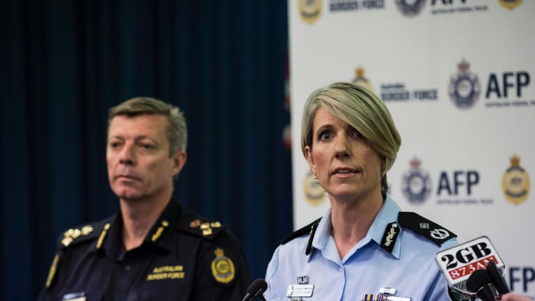 Chief Police Officer Justine Saunders.