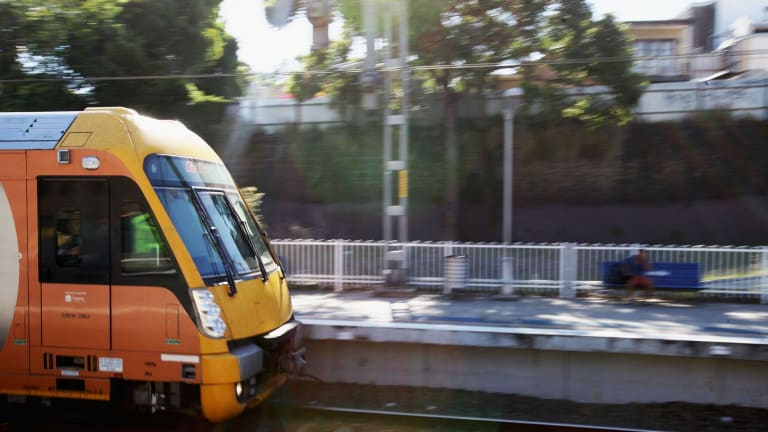 """Under Mike Baird's timetable, the Metro West line was to be built next decade, and be """"operational in the second half of the 2020s""""."""
