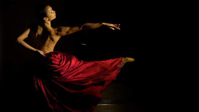 Dress code: Vivienne Wong in Australian Ballet's presentation of Bella Figura.