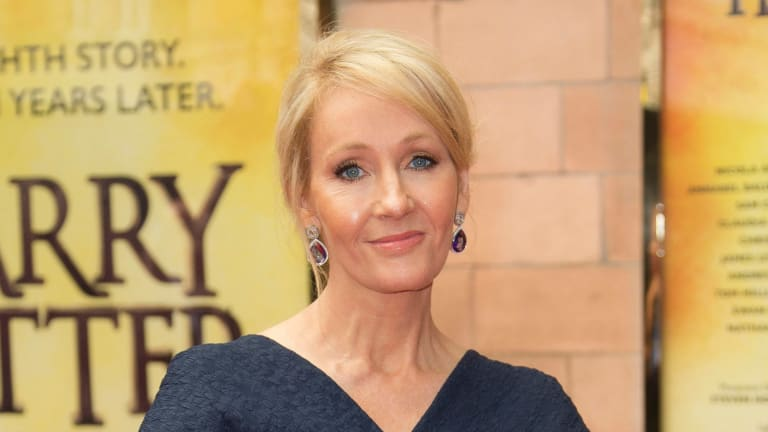 J.K. Rowling's early years as an unknown, struggling writer could be coming to the screen.