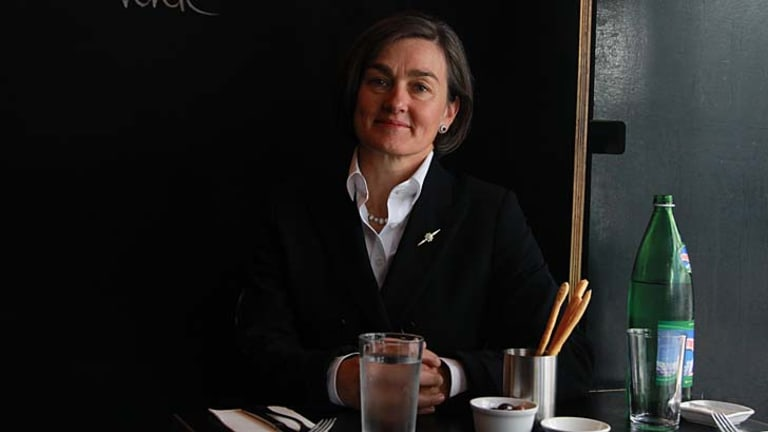 """""""I am terribly competitive. I don't mean it in the sense of beating people but of juicing the lemon for all it is worth"""" ... Louise Herron, the Sydney Opera House's new CEO."""