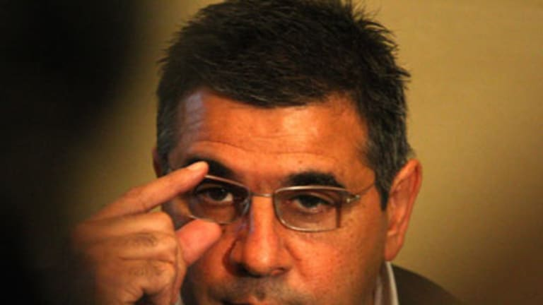 """""""Extremely disappointed""""...the AFL's Andrew Demetriou."""