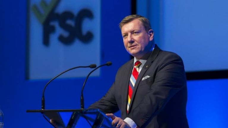 """The advice industry needs an external, independent governing body"": Financial Services Council chief John Brogden."