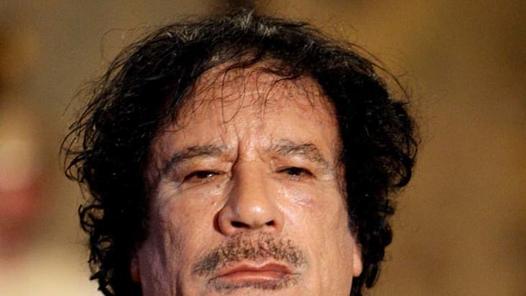 "Muammar Gaddafi ... ""They love me, all my people."""