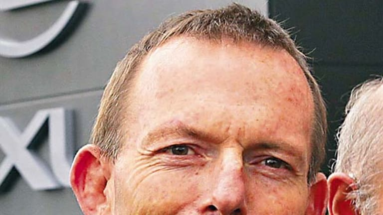 """""""I think if women are given a chance to show their abilities they will get plaxces on their merits"""" ... Tony Abbott."""