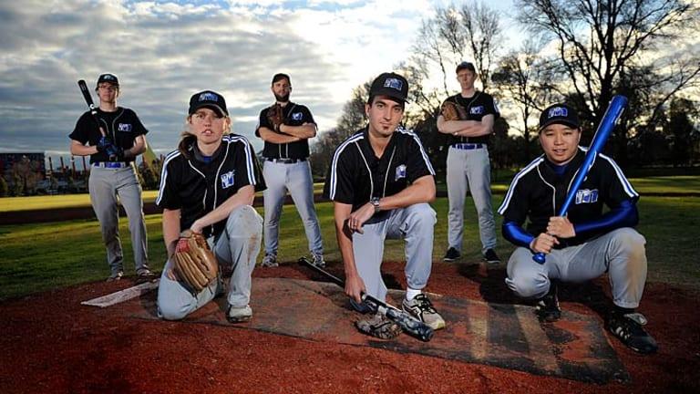 1. Melbourne Uni baseball players.