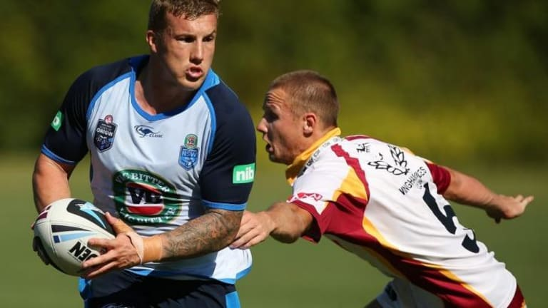 """I've felt a big difference. It hasn't cured my knee but it's certainly helped it out"": Trent Hodkinson."