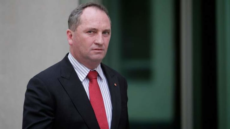 Agriculture Minister Barnaby Joyce: Claimed over $5000 for flights for himself and his wife out of Malaysia.