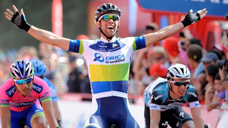 Michael Matthews wins fifth stage of the Tour of Spain