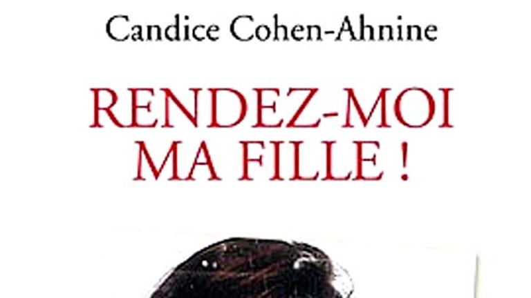 Custody battle ...  Candice Cohen-Ahnine wrote a book recounting her ordeal.
