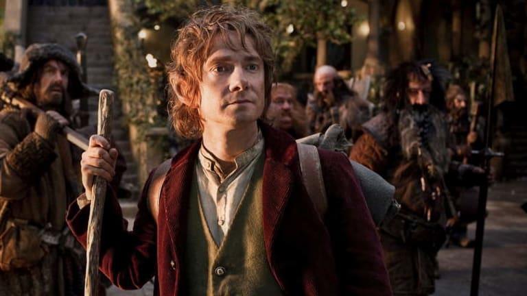 Martin Freeman as Bilbo Baggins in <i>The Hobbit</i>.