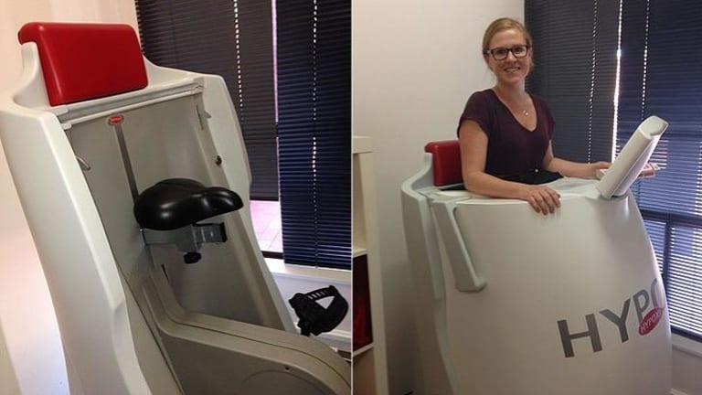 Hypoxi. It looks odd. Trying it for the first time is odd too, writes Elissa Griesser.