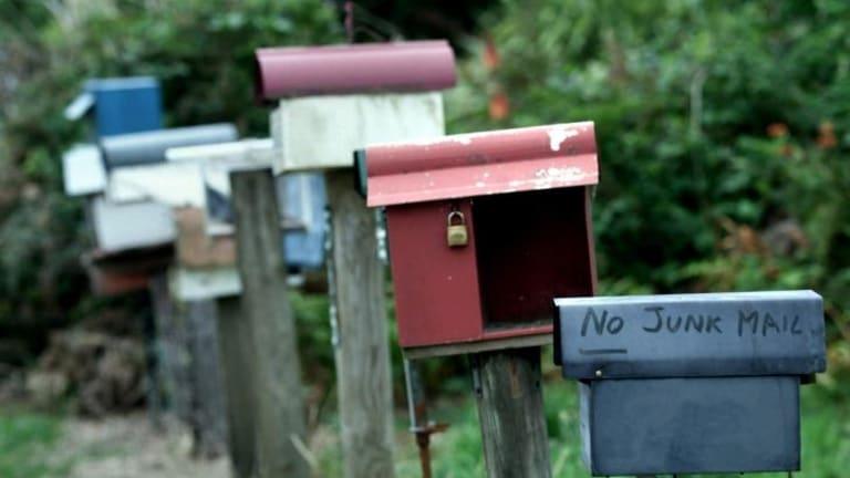Beware: There may be no parcel waiting.