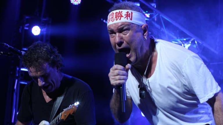 Cold Chisel perform at Rod Laver Arena last November.