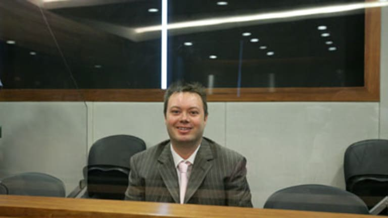 "Carl Williams, pictured before his sentencing in May 2007, declared himself a proud ""mummy's boy""."