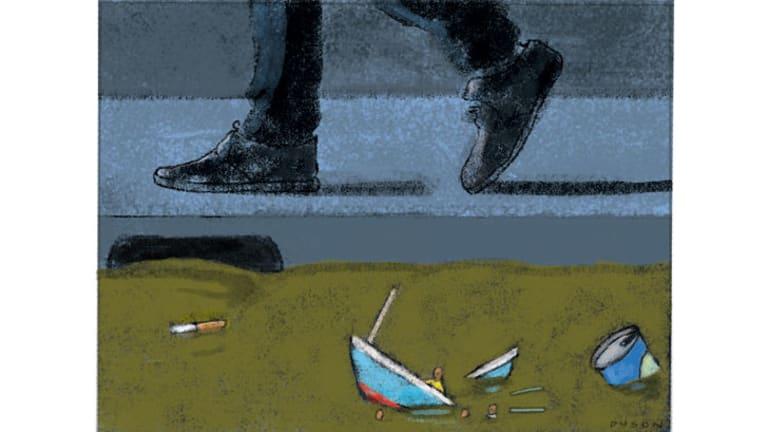 Illustration: Andrew Dyson.