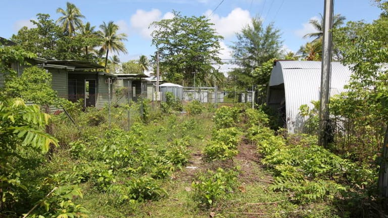 The Manus Island detention centre was inspected by RAAF engineers as part of the ADF's reconnaissance  mission.