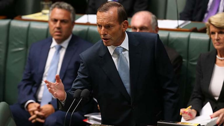 """""""Turn good intentions into better outcomes"""": Tony Abbott promises better outcomes for Indigenous education."""