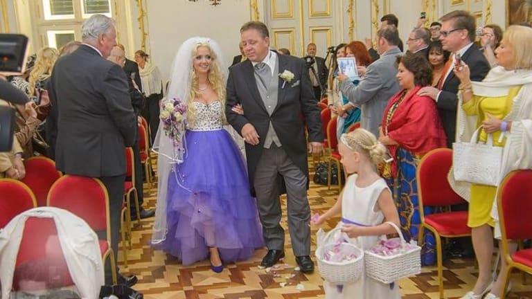 German Playboy model Cathy Schmitz 24 marries billionaire