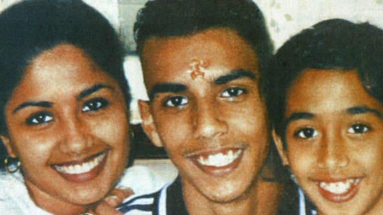 Dead in spa ... Neelma, Kunal and Sidhi Singh.