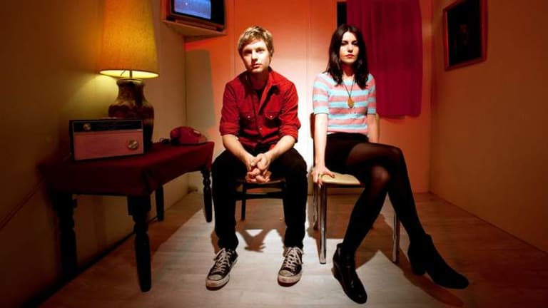 Drummer Steve Ansell and singer Laura-Mary Carter have worked for every hint of success Blood Red Shoes have enjoyed in the past eight years.