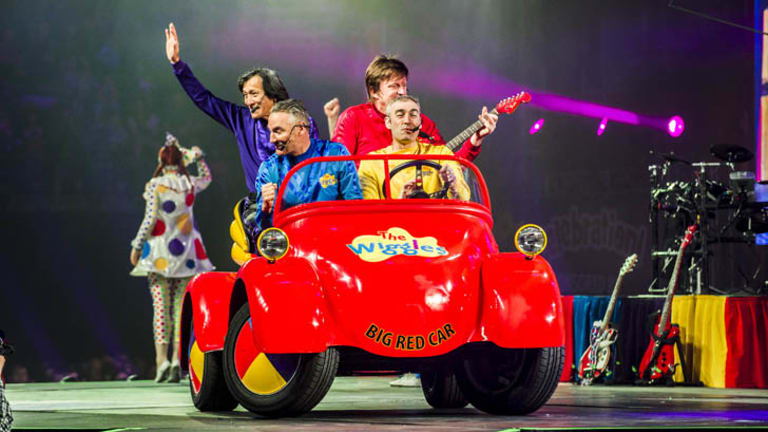 The Wiggles farewelled Canberra today ... but have assured kids their DVDs will still work.