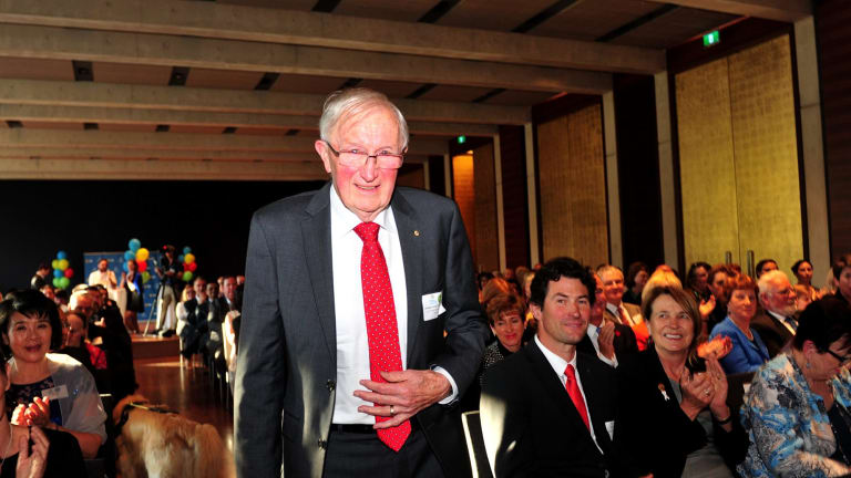 Professor Greg Tegart was announced ACT Senior Australian of the Year at the 2016 ACT Australian of the Year awards ceremony held in the Gandel Hall at the National Gallery of Australia.
