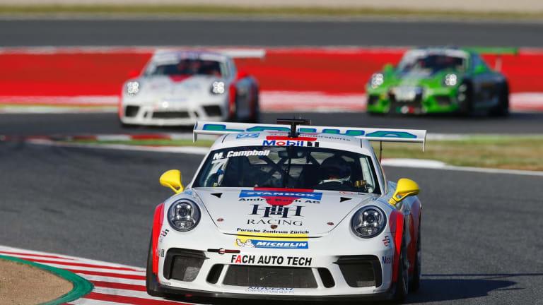 Upgrade: Matt Campbell will soon be driving a much more powerful Porsche product.