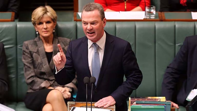 Proposed the idea of collecting HECS debts from the dead as a way to boost the budget bottom line: Education Minister Christopher Pyne.