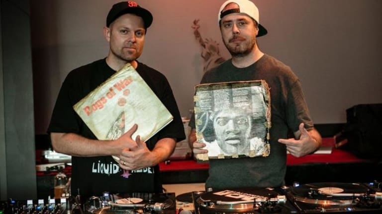 DJ Shadow and Cut Chemist mixed many styles into a cohesive show.