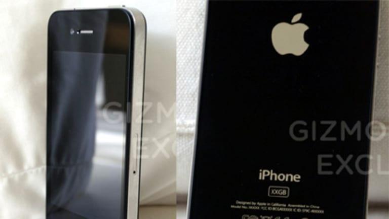The leaked iPhone prototype.