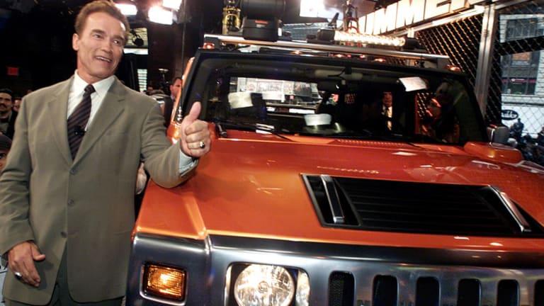 Former California governor Arnold Schwarzenegger in 2001.