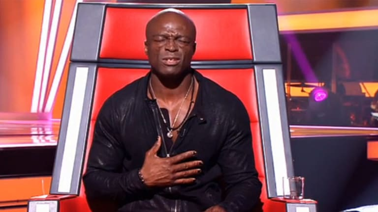 Brutal honesty ...  Seal loved the song but not the performance.