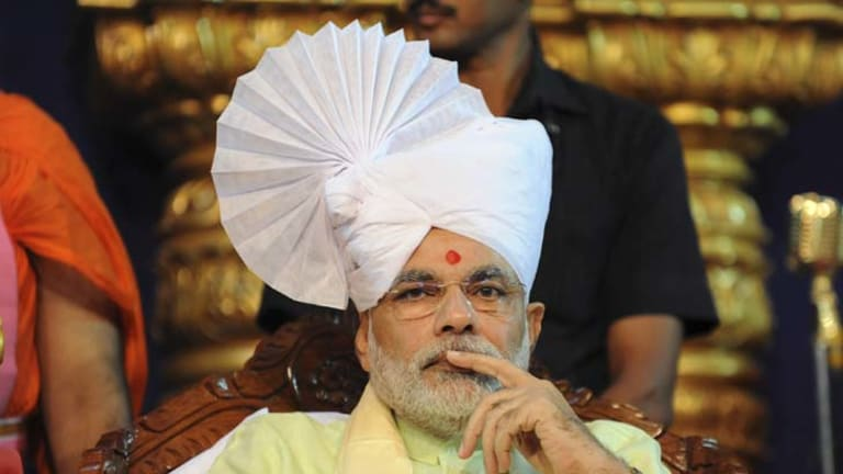 Narendra Modi … ''nowadays the country is in search of a very strong leadership.''