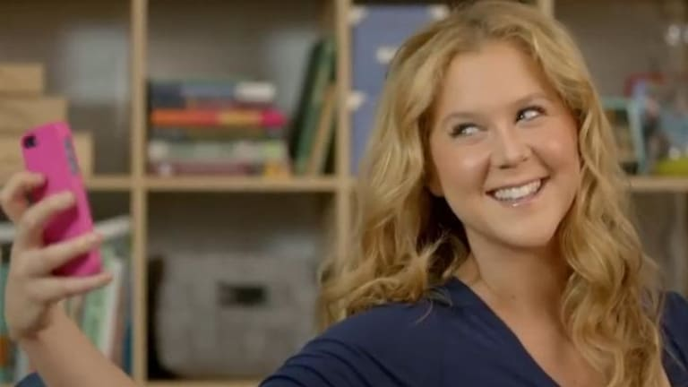 Acclaimed comedian Amy Schumer's has reacted stridently to a hint of criticism.