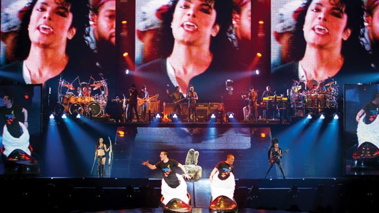 Cirque du Soleil's Michael Jackson The Immortal World Tour