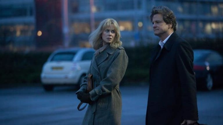 Questions of trust: Nicole Kidman and Colin Firth in Before I Go to Sleep.