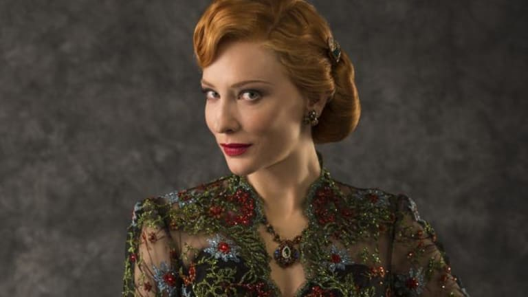 Cate Blanchett as the wicked stepmother in <i>Cinderella</i>.