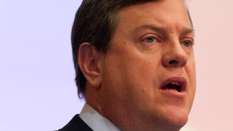 Queensland Treasurer Tim Nicholls...claimed the Bligh government had a ''secret plan to remove up to 41,753 public servants from the public service payroll''.