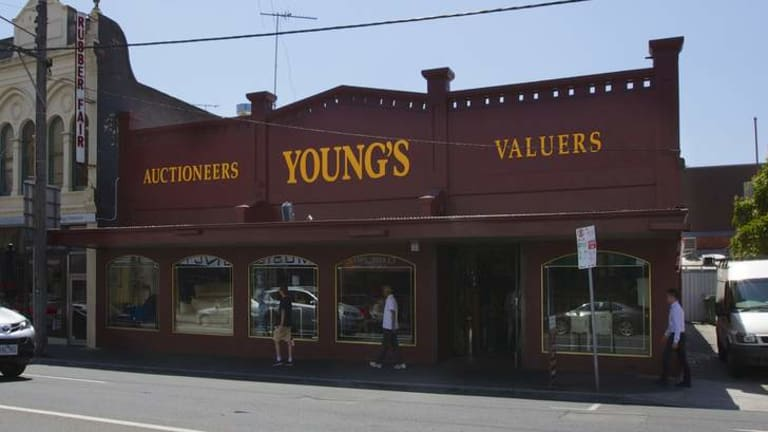 Landmark: Young's at Camberwell Junction is expected to sell for about $4 million.