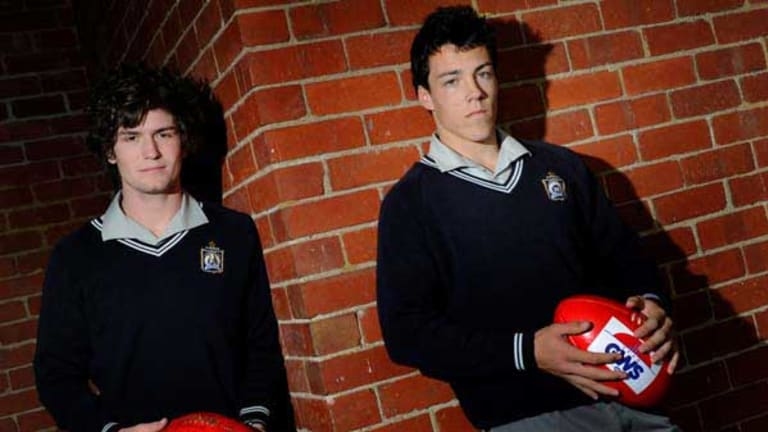 Tom Bugg and Dylan Sheil have been selected by GWS in the draft.