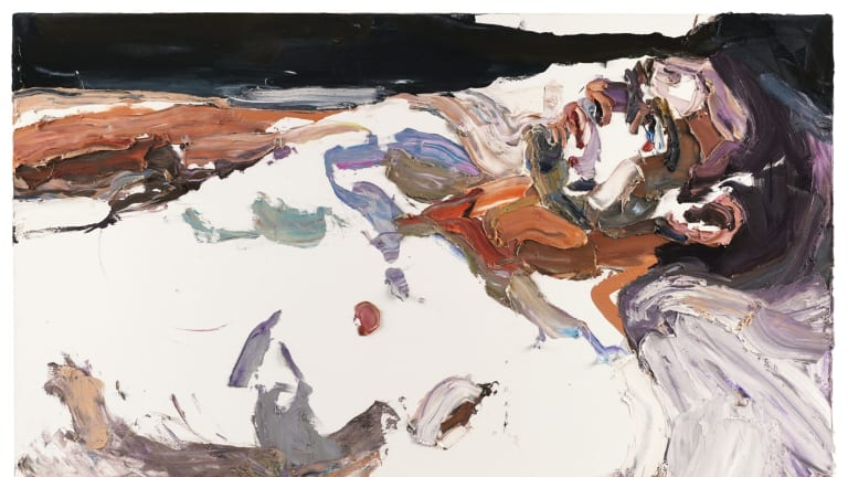 Ben Quilty, Captain S, after Afghanistan, 2012, oil on linen, 140 x 190 cm. On tour as part of the exhibition Ben Quilty: After Afghanistan, acquired under the official art scheme in 2012