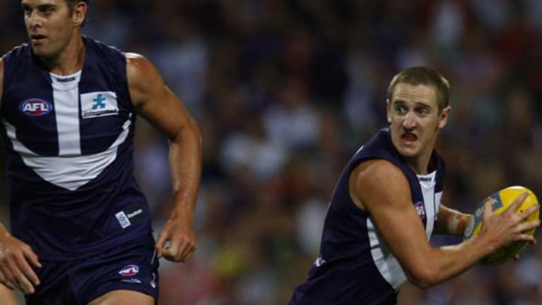 Michael Barlow was a revelation for Fremantle after being raised off the rookie list.