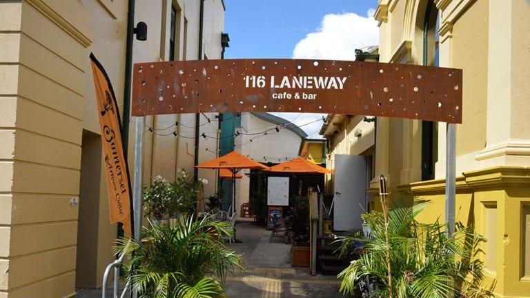 116 Laneway cafe and bar