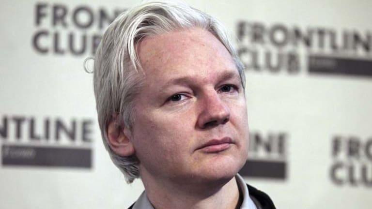 In limbo ... WikiLeaks founder Julian Assange