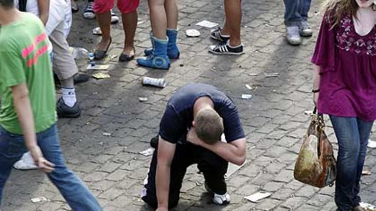 A celebration ends in tragedy at the Love Parade festival.
