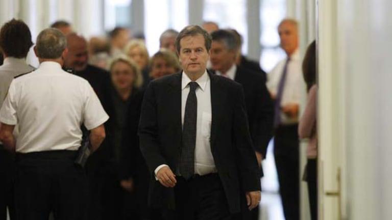 'It wasn't done lightly' ... Member for Maribyrnong Bill Shorten last Thursday.