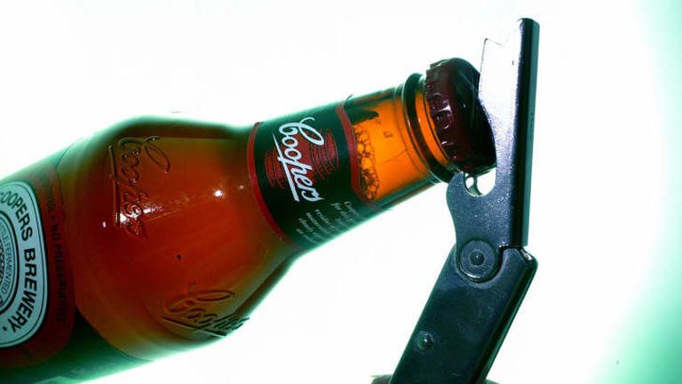 Coopers is happy to see more competition in the beer market.